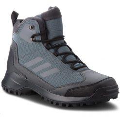 Buty adidas - Terrex Heron Mid Cw Cp AC7842 Grefiv/Grefiv/Carbon. Szare buty trekkingowe męskie marki Adidas, z materiału, outdoorowe, adidas terrex, climaproof (adidas). W wyprzedaży za 419,00 zł.