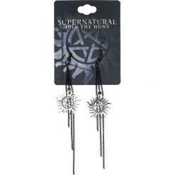 Kolczyki damskie: Supernatural Anti Possession Kolczyki czarny