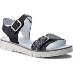 Sandały dziewczęce: Sandały BARTEK – 39164-0P4 Niebiesko Biały