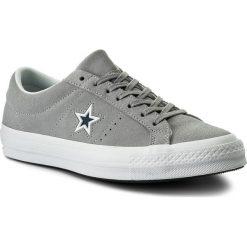 Tenisówki męskie: Tenisówki CONVERSE – One Star Ox 159733C  Wolf Grey/White/Navy
