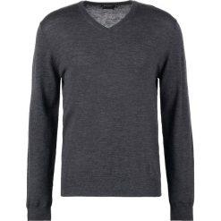 Tiger of Sweden RAEL  Sweter grey street. Brązowe swetry klasyczne męskie marki Tiger of Sweden, m, z wełny. Za 459,00 zł.