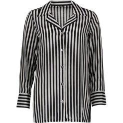 Koszulka piżamowa w kolorze czarno-białym. Białe koszule nocne i halki Naturana, z wiskozy. W wyprzedaży za 121,95 zł.