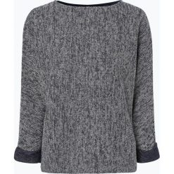 Opus - Sweter damski – Ganya mouliné, niebieski. Niebieskie swetry klasyczne damskie Opus. Za 199,95 zł.