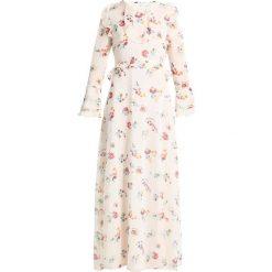 Długie sukienki: Cortefiel LONG DRESS WITH FRILLS DETAILS Długa sukienka yellows