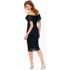 Sukienki balowe: SUKIENKA DAMSKA, ZA KOLANO, DOPASOWANA