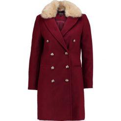 Płaszcze damskie pastelowe: Topshop NINA Płaszcz wełniany /Płaszcz klasyczny burgundy