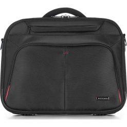Torba na laptopa 56-3S-633-1B. Czarne torby na laptopa marki Wittchen, w paski, z poliesteru. Za 359,00 zł.