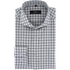 Koszula IGNAZIO slim 15-08-19-K. Szare koszule męskie na spinki Giacomo Conti, m, z bawełny, z długim rękawem. Za 229,00 zł.