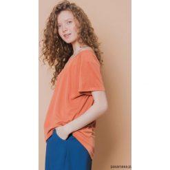 Bluzki, topy, tuniki: T-shirt raglanowy pomarańczowy
