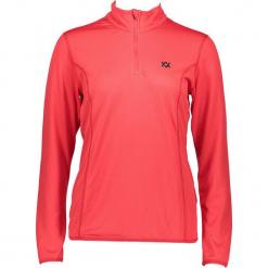 Koszulka funkcyjna w kolorze czerwonym. Czerwone t-shirty damskie marki Völkl, ze stójką. W wyprzedaży za 130,95 zł.