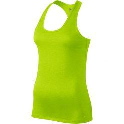 Koszulka sportowa damska NIKE DRY TANK BALANCE / 648567-702 - NIKE DRY TANK BALANCE. Żółte topy sportowe damskie Nike, bez rękawów. Za 59,00 zł.