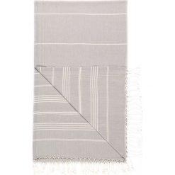 Chusta hammam w kolorze szarym - 180 x 100 cm. Czarne chusty damskie marki Hamamtowels, z bawełny. W wyprzedaży za 43,95 zł.