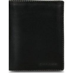 Portfel męski. Czarne portfele męskie marki Gino Rossi, ze skóry. Za 169,90 zł.