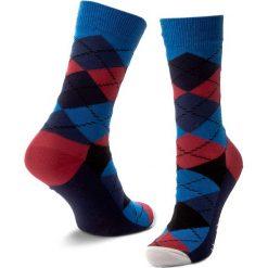 Skarpety Wysokie Unisex HAPPY SOCKS - AR01-067 Granatowy Kolorowy. Czerwone skarpetki męskie marki Happy Socks, z bawełny. Za 34,90 zł.