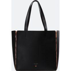Shopper bag damskie: Ted Baker ZIPPI INTERCHANGEABLE PANEL SHOPPER Torebka black
