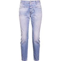 Rurki damskie: CLOSED CROPPED WORKER Jeansy Slim Fit light blue