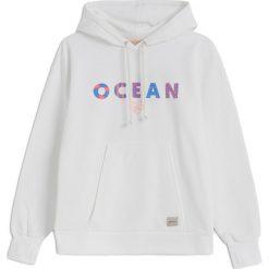 Bluzy rozpinane damskie: Bluza Ocean White