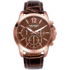 Mark Maddox Zegarek Męski hc6010-45. Brązowe zegarki męskie Mark Maddox. W wyprzedaży za 269,00 zł.