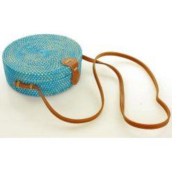 Kuferki damskie: Koszyk torebka pleciona kuferek z bambusa hit mazzini - palermo