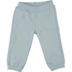Spodnie niemowlęce: Spodnie dresowe w kolorze błękitnym