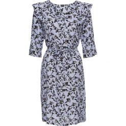 Sukienki: Sukienka z nadrukiem bonprix pudrowy niebieski z nadrukiem