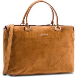 Torebka COCCINELLE - CI1 Keyla Suede E1 CI1 18 02 01 Cuir W12. Brązowe torebki klasyczne damskie Coccinelle, ze skóry. W wyprzedaży za 979,00 zł.