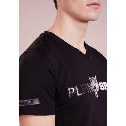 Plein Sport Tshirt z nadrukiem black. Czarne koszulki polo marki Plein Sport, m, z nadrukiem, z bawełny. W wyprzedaży za 401,40 zł.