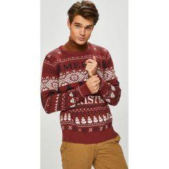 Produkt by Jack & Jones - Sweter. Niebieskie swetry klasyczne męskie marki PRODUKT by Jack & Jones. W wyprzedaży za 99,90 zł.