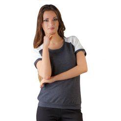 Topy sportowe damskie: Bluzka w kolorze ciemnoszarym