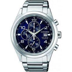 ZEGAREK CITIZEN Titanium CA0650-82L. Niebieskie zegarki męskie CITIZEN, ze stali. Za 1470,00 zł.