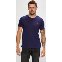 U.S. Polo - T-shirt. Czarne koszulki polo marki U.S. Polo, l, z bawełny. W wyprzedaży za 139,90 zł.