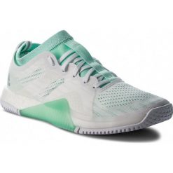 Buty adidas - CrazyTrain Elite W AC8252  Ftwwht/Clemin/Ftwwht. Czarne buty do fitnessu damskie marki Adidas, z kauczuku. W wyprzedaży za 479,00 zł.