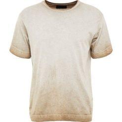 Diesel Black Gold TEOSE Tshirt z nadrukiem beige. Brązowe t-shirty męskie z nadrukiem Diesel Black Gold, m, z bawełny. Za 399,00 zł.