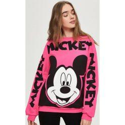 Bluzy damskie: Bluza mickey mouse – Różowy