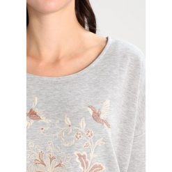 Bluzy rozpinane damskie: Cream JANA SWEATSHIRT Bluza light grey melange
