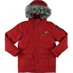 """Kurtka zimowa """"Icybo"""" w kolorze czerwonym. Czerwone kurtki dziewczęce przeciwdeszczowe marki Alpine Pro, na zimę, z materiału. W wyprzedaży za 260,95 zł."""