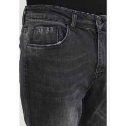 Spodnie męskie: Antioch ANTIOCH WASHED BLACK STRETCH Jeansy Slim Fit washed black
