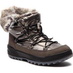 Śniegowce MANITU - 991227  Taupe 8. Szare buty zimowe damskie Manitu, z materiału. Za 379,00 zł.