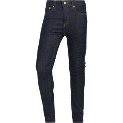 Topman RAW UPDATE SPRAY ON  Jeans Skinny Fit blue. Niebieskie rurki męskie Topman. W wyprzedaży za 206,10 zł.