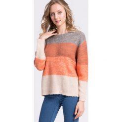 Vila - Sweter. Różowe swetry klasyczne damskie Vila, m, z dzianiny. W wyprzedaży za 119,90 zł.
