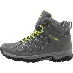 Buty trekkingowe męskie: KangaROOS LOOP HIGH Buty trekkingowe steel grey/lime