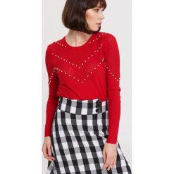 Czerwony Sweter Waiting Time. Czerwone swetry klasyczne damskie other, na jesień, l. Za 64,99 zł.