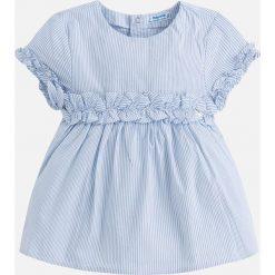 Mayoral - Top dziecięcy 98-134 cm. Różowe bluzki dziewczęce bawełniane marki Mayoral, z okrągłym kołnierzem. Za 99,90 zł.