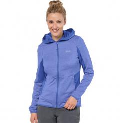 """Kurtka polarowa """"Sutherland"""" w kolorze niebieskim. Niebieskie kurtki damskie marki Jack Wolfskin, xs, z materiału. W wyprzedaży za 230,95 zł."""