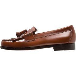 Buty wizytowe męskie: G. H. Bass & Co. WEEJUN LAYTON MOC KILTIE Eleganckie buty mid brown