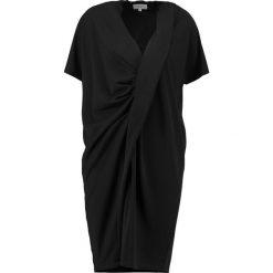 Sukienki hiszpanki: NORR LAKE DRAPE  Sukienka z dżerseju black