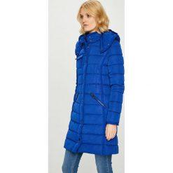 Desigual - Kurtka. Szare kurtki damskie pikowane marki Desigual, l, z tkaniny, casualowe, z długim rękawem. W wyprzedaży za 549,90 zł.
