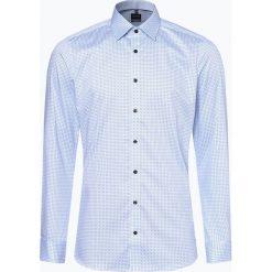 Olymp Level Five - Koszula męska łatwa w prasowaniu, niebieski. Niebieskie koszule męskie non-iron marki OLYMP Level Five, m. Za 249,95 zł.