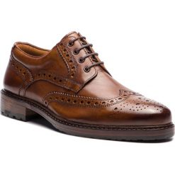Półbuty SALAMANDER - Reginald 31-59002-07 Cognac. Brązowe buty wizytowe męskie Salamander, ze skóry. Za 429,00 zł.