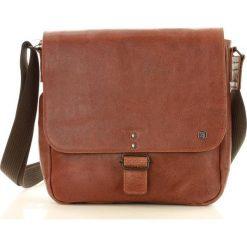 Torba skórzana koniakowa Daag FREE STEP. Brązowe torby na laptopa marki daag, w paski, ze skóry. Za 349,00 zł.